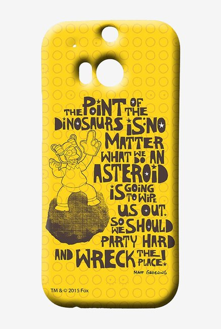 Simpsons The Dinosaur Theory Case for HTC One M8
