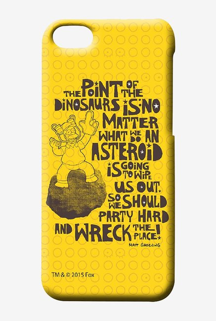 Simpsons The Dinosaur Theory Case for iPhone 4/4s