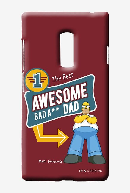 Simpsons Awesome Dad Case for Oneplus Two