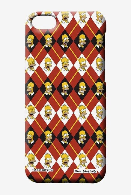 Simpsons Homer Moods Case for iPhone 5C