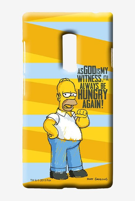 Simpsons Hungry Homer Case for Oneplus Two