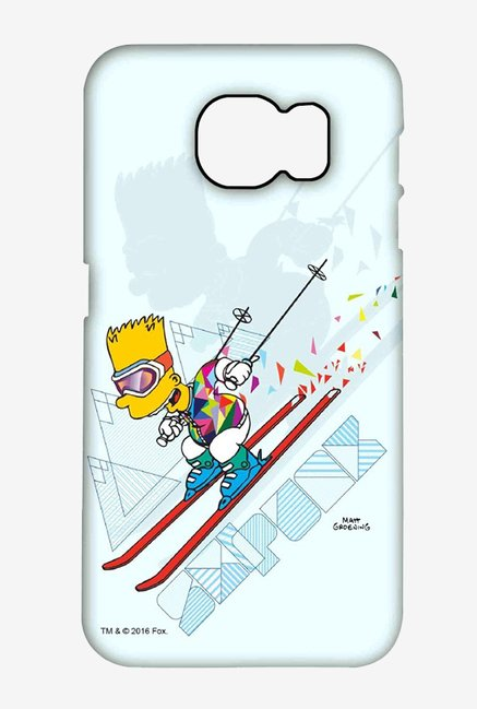 Simpsons Ski Punk Case for Samsung S6