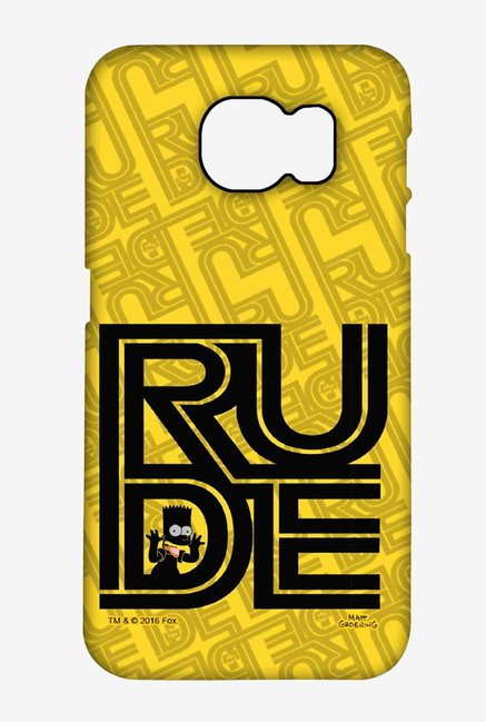 Simpsons Rude Case for Samsung S6