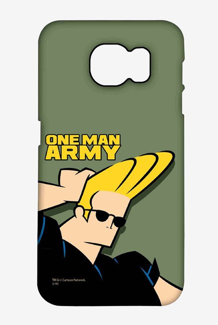 Johnny Bravo One Man Army Case for Samsung S6