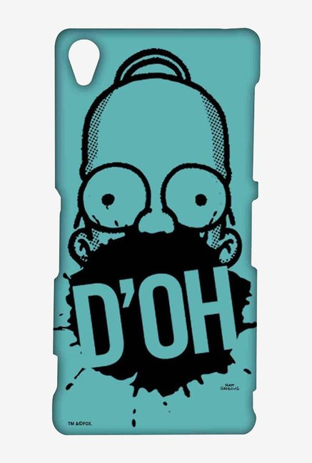 Simpsons D'OH Teal Case for Sony Xperia Z3