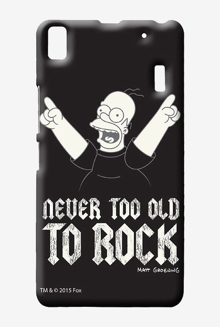 Simpsons Rockstar Homer Case for Lenovo A7000