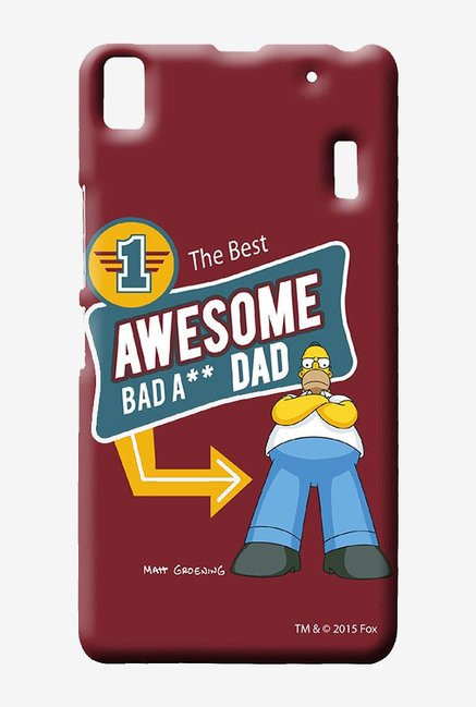 Simpsons Awesome Dad Case for Lenovo K3 Note