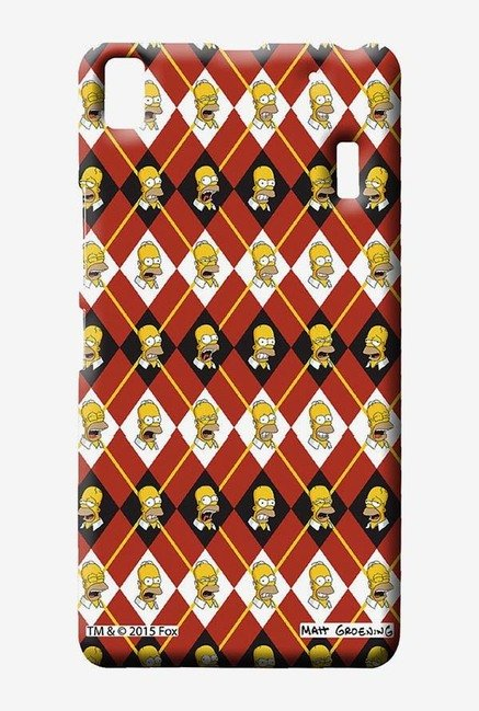 Simpsons Homer Moods Case for Lenovo K3 Note