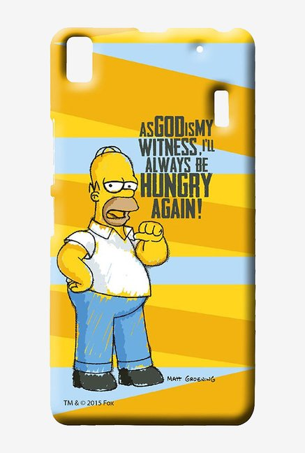 Simpsons Hungry Homer Case for Lenovo K3 Note