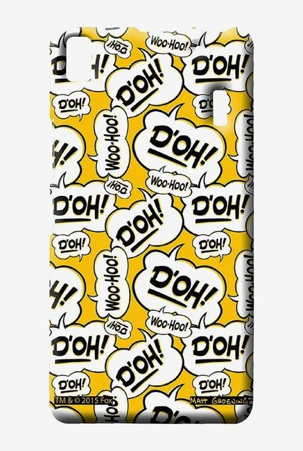 Simpsons Random Expressions Case for Lenovo K3 Note