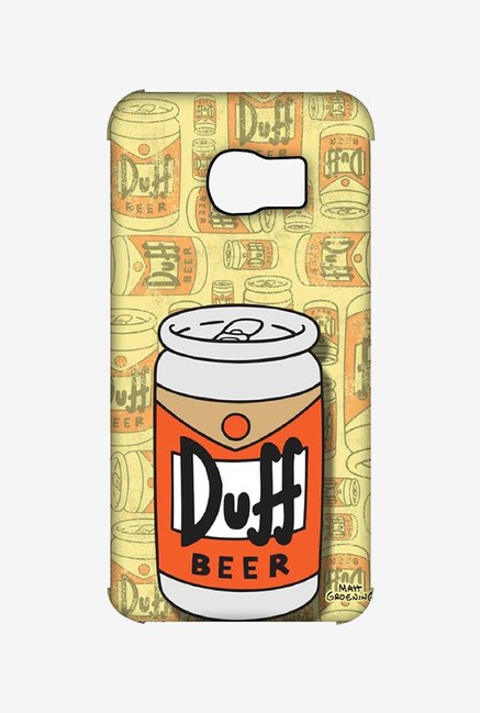 Simpsons Duff Beer Case for Samsung S6 Edge