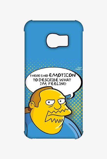 Simpsons Comic Guy Case for Samsung S6 Edge