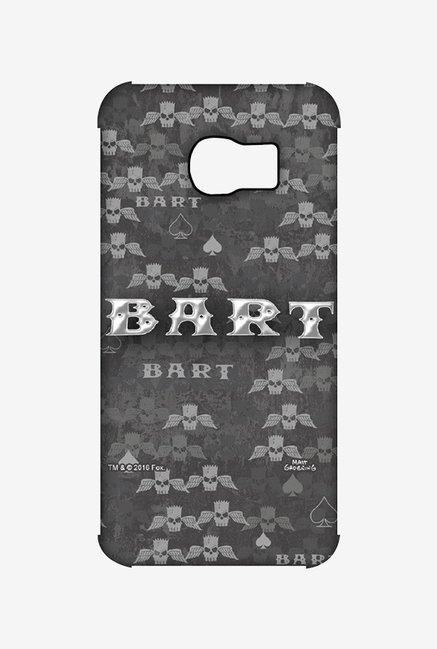 Simpsons Bart Wings Case for Samsung S6 Edge