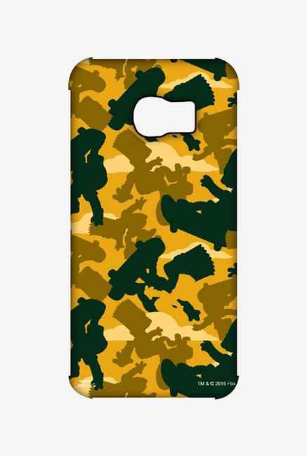 Simpsons Camo Bart Case for Samsung S6 Edge