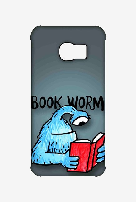 Kritzels Book Worm Case for Samsung S6 Edge
