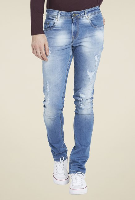 Globus Blue Tattered Jeans