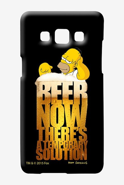 Simpsons The Beer Solution Case for Samsung Galaxy A7