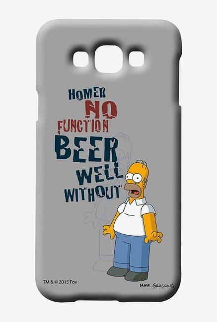 Simpsons Homers Poison Case for Samsung Galaxy E7