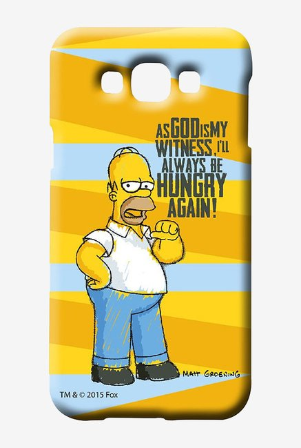 Simpsons Hungry Homer Case for Samsung Galaxy E7