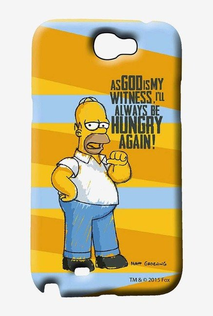 Simpsons Hungry Homer Case for Samsung Note 2