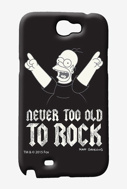 Simpsons Rockstar Homer Case for Samsung Note 2