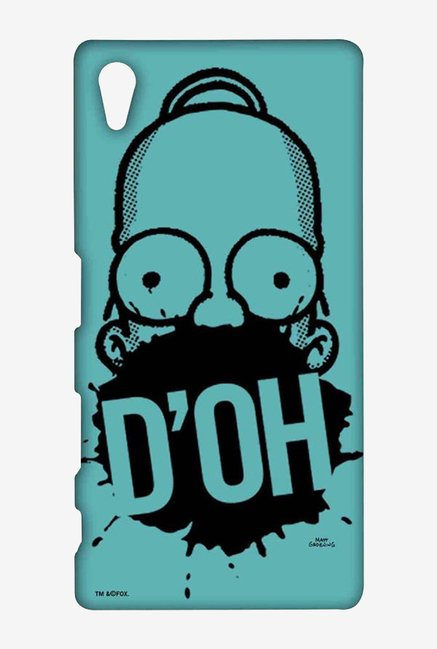 Simpsons D'OH Teal Case for Sony Xperia Z5