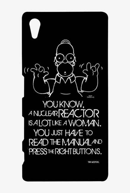 Simpsons Nuclear Reactor Case for Sony Xperia Z5