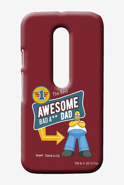 Simpsons Awesome Dad Case for Moto G3