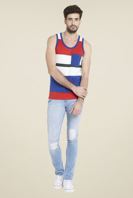 Globus Multicolor Striped Vest