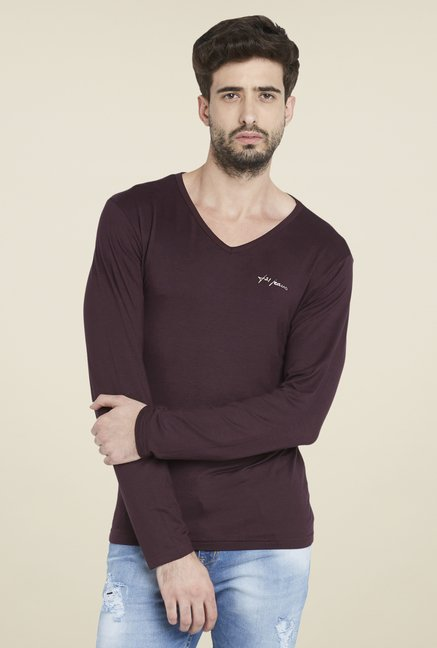 Globus Wine Full Sleeve T Shirt
