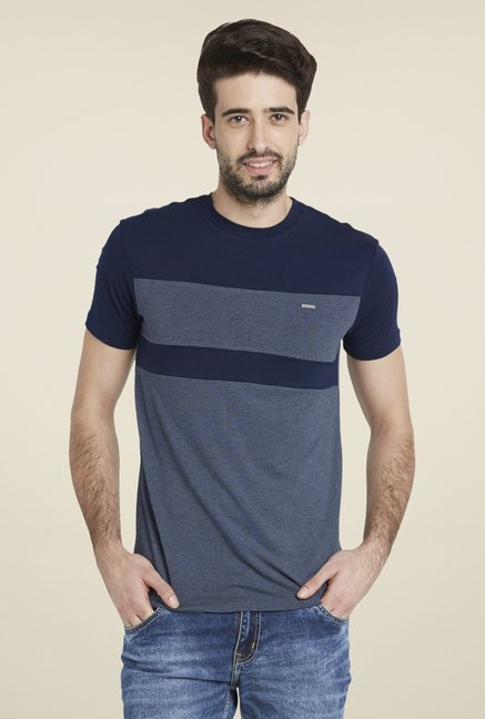 Globus Navy Chic Short Sleeve T Shirt