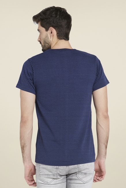 Globus Navy Chic Polka Dots T Shirt