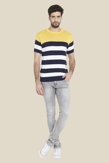 Globus Multicolor Striped T Shirt