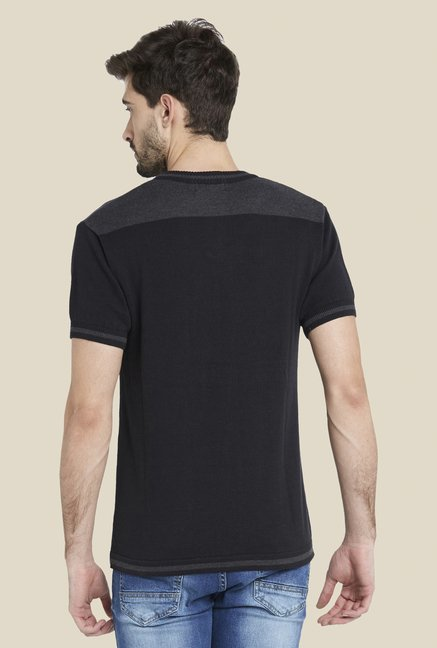 Globus Charcoal Short Sleeve Crew T Shirt