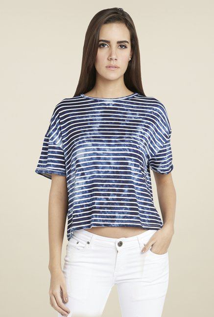 Globus Blue Striped Top