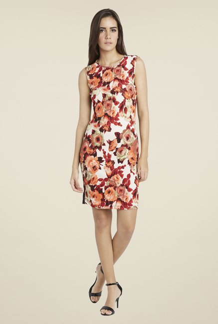 Globus Red Floral Print Dress