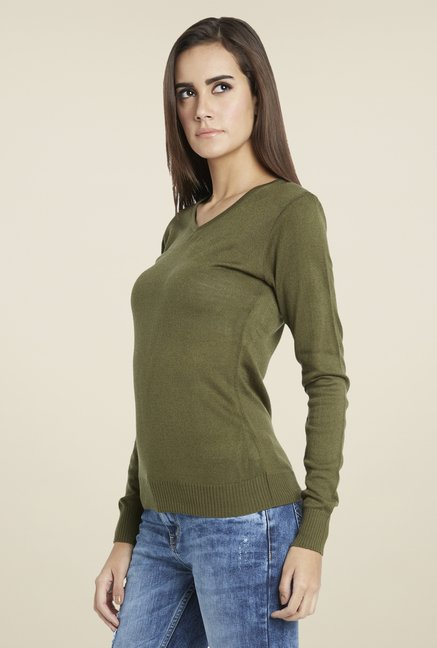 Globus Olive Stylish Top