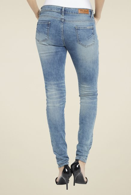 Globus Light Blue Skinny Fit Jeans