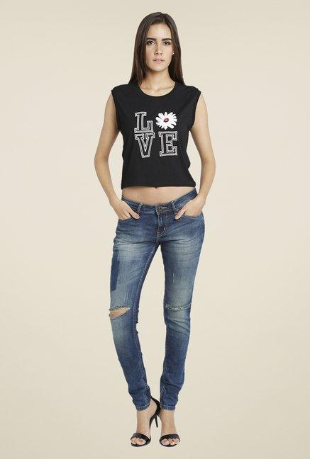 Globus Blue Skinny Fit Jeans
