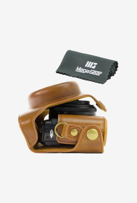 "MegaGear ""Ever Ready"" Leather Camera Case (Light Brown)"