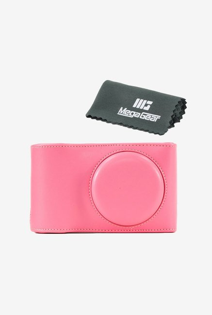 "MegaGear ""Ever Ready"" Protective Leather Camera Case (Pink)"