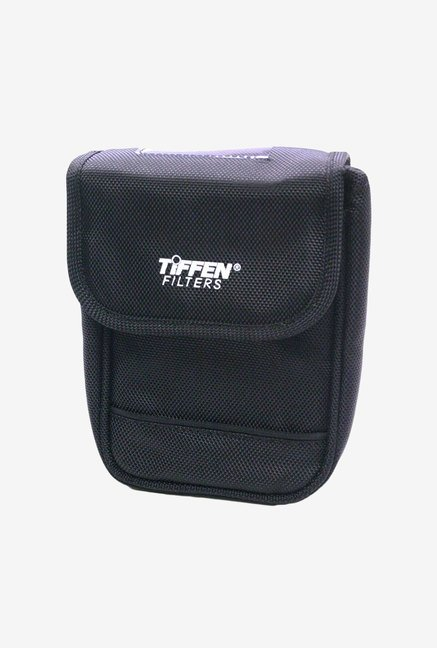 Tiffen 4 x 5.65 6 Pocket Filter Pouch With Belt Loop (Black)