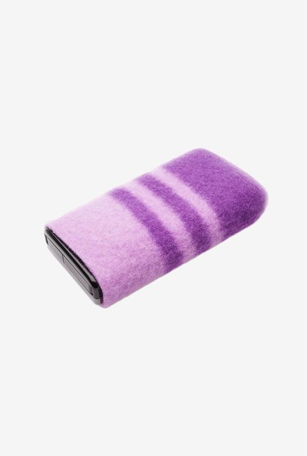 Flip Video Wool Pouch For Flip Mino/HD Camcorders (Purple)