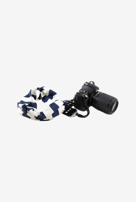Capturing Couture SCARF-STNV Camera Strap (Navy/White)