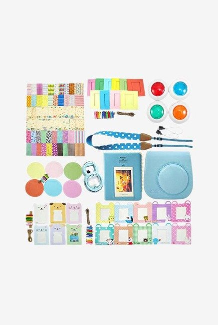 Katia Beni Set4-02 Instax Camera Accessory Bundle Set (Blue)