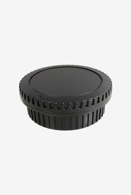 Cam Design Camera Body Cap & Camera Rear Lens Cover (Black)