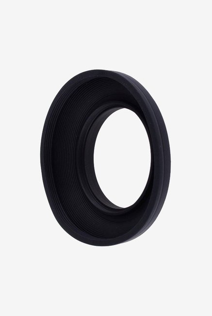 Neewer 10080209 55mm Collapsible Rubber Lens Hood (Black)