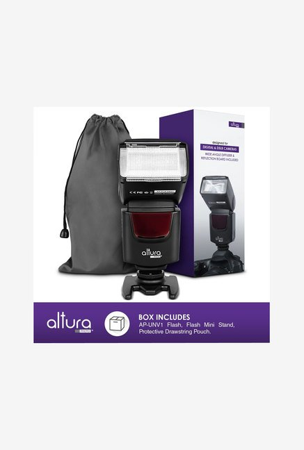 Altura Photo AP-UNV1 Speedlite Flash Bundle (Black)