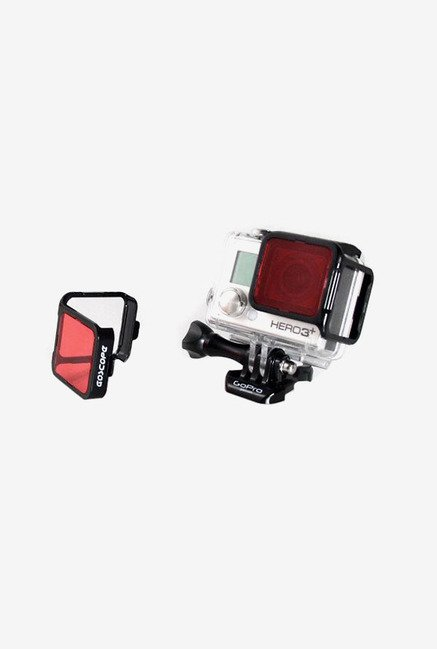 GoScope HERO3+ Reversible Filter (Red)