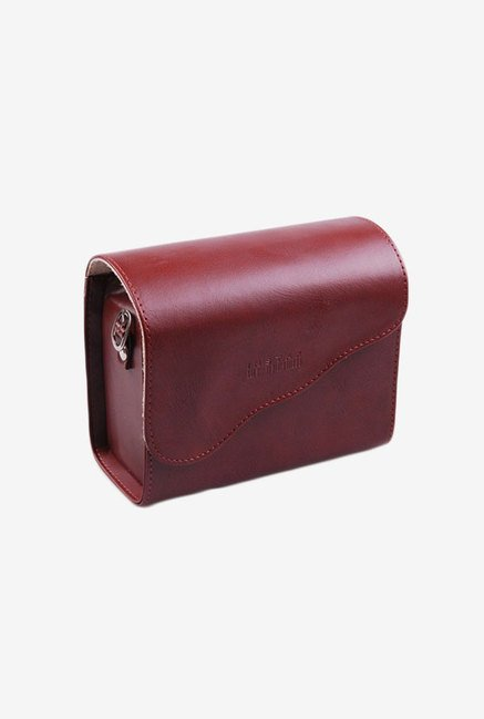 Generic Leather Bag For Fujifilm Instax Mini 7S (Brown)